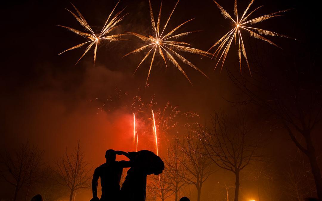 Feuerwerkfotos bearbeiten, Bildbearbeitung mit Camera RAW von Adobe Photoshop und Alternativen