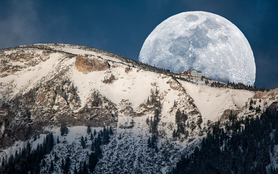Mond fotografieren – So fotografierst Du den Erdtrabant richtig